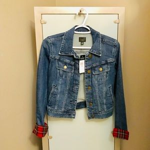 Ralph Lauren Blue Jean Jacket with accented cuffs